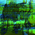 Abstract Landscape by Ilona Burchard