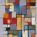 Abstract Line Series  by Patricia Cleasby