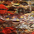 Abstract Magnified Lines by Kathy M Krause