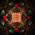 Abstract Mandala 2 by Elena Riim