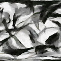 Abstract Monochome 156 by D A Diggs