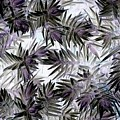 Abstract Of Low Growing Evergreen Shrub by Debra Lynch