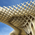 Abstract Of Metropol Parasol Pod At Plaza Of The Incarnation Sev by Reimar Gaertner