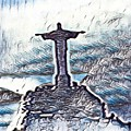 Abstract Of Our Saviour  by John Malone