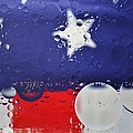 Abstract Stars And Stripes by Dennis Nelson