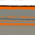 Abstract Orange 2 by Naxart Studio