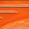 Abstract Orange '35 by Dennis Hedberg