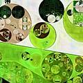 Abstract Painting - Black Bean by Vitaliy Gladkiy