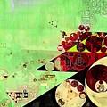 Abstract Painting - Feijoa by Vitaliy Gladkiy