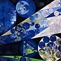 Abstract Painting - Lavender Gray by Vitaliy Gladkiy
