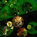 Abstract Painting - Lincoln Green by Vitaliy Gladkiy