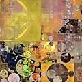 Abstract Painting - Pale Brown by Vitaliy Gladkiy