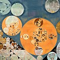 Abstract Painting - Shuttle Grey by Vitaliy Gladkiy