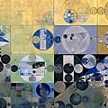 Abstract Painting - Sisal by Vitaliy Gladkiy