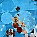 Abstract Painting - Spray by Vitaliy Gladkiy