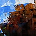 Abstract Painting - Spring 2015 by Vitaliy Gladkiy