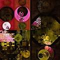 Abstract Painting - Tonys Pink by Vitaliy Gladkiy