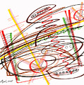Abstract Pen Drawing Seven by Lynne Taetzsch