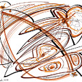 Abstract Pen Drawing Ten by Lynne Taetzsch
