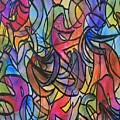 Abstract Pen by Julie Bergfalk