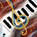 Abstract Piano Concert by Eduardo Tavares