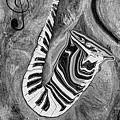 Piano Keys In A Saxophone 1 - Music In Motion by Wayne Cantrell