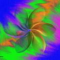 Abstract Pinwheel by Pamula Reeves-Barker