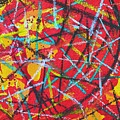 Abstract Pizza 2 by Ana Maria Edulescu