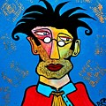 Abstract Professor by Davids Digits