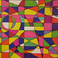 Abstract Rainbow Of Color by Sarahjo Hawes