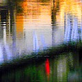 Abstract Reflection In Water 02 by Henry Murray