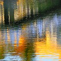 Abstract Reflection In Water 05  by Henry Murray