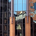 Abstract Reflections In Glass by Karin Kohlmeier