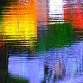 Abstract Reflections In Water 01 by Henry Murray
