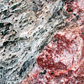 Abstract Rock Marbled Marvel by Christina Rollo