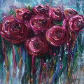 Abstract Roses by OLena Art Brand