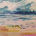 Abstract Seascape by Patricia Ducher