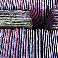Abstract Slate Pile by Meirion Matthias