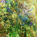 Abstract Spring Burst Inspired By Van Gogh by Isabella Howard
