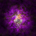 Abstract Stars Nebula by Miroslav Nemecek