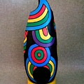 Abstract Streamers Gourd 2   by Delores Malcomson