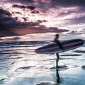 Abstract Surfer by Kevin Kothandaraman