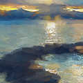 Abstract Tahoe by Terry Davis