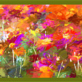 Abstract Thought Processes by Debra Lynch