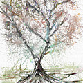 Abstract Tree by Renee Skiba