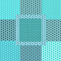 Abstract Turquoise Pattern Mockup C1 by Alisha at AlishaDawnCreations