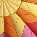 Abstract View Of Hot Air Balloon by Juli Scalzi