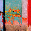 Abstract Wall By Michael Fitzpatrick by Mexicolors Art Photography