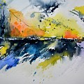 Abstract Watercolor 7007555 by Pol Ledent