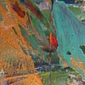 Abstract With Gold - Close Up 7 by Anita Burgermeister